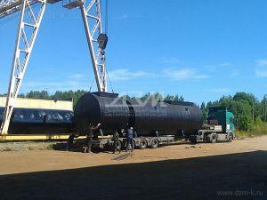 Горизонтальные резервуары для хранения нефтепродуктов, воды, бензина